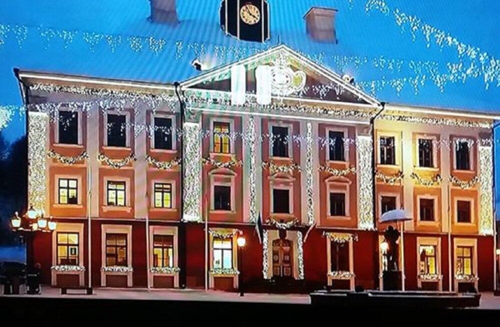 Kanada jõulufilmi arvates asub Tartu raekoda hoopis USA väikelinnas