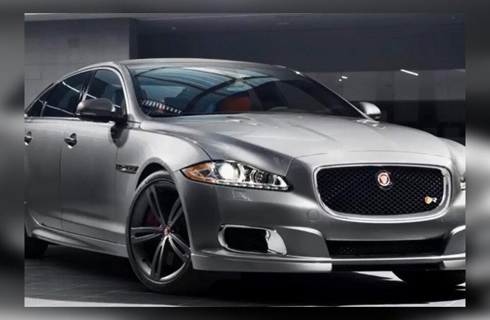 Jaguar näitab New Yorgis 550-hobujõulist sedaani