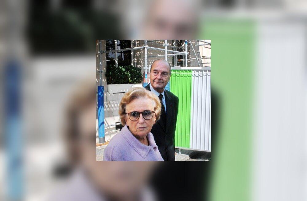 Bernadette Chirac, esimene leedi