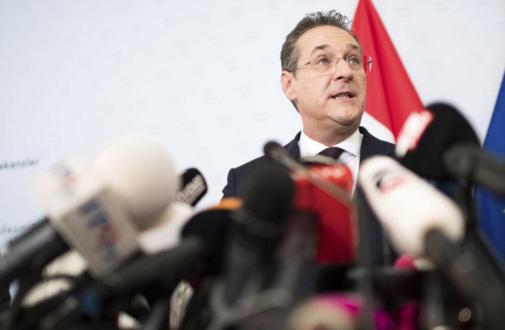 Tagasi astunud Austria parempopulistide liider: käitusin kui matšo