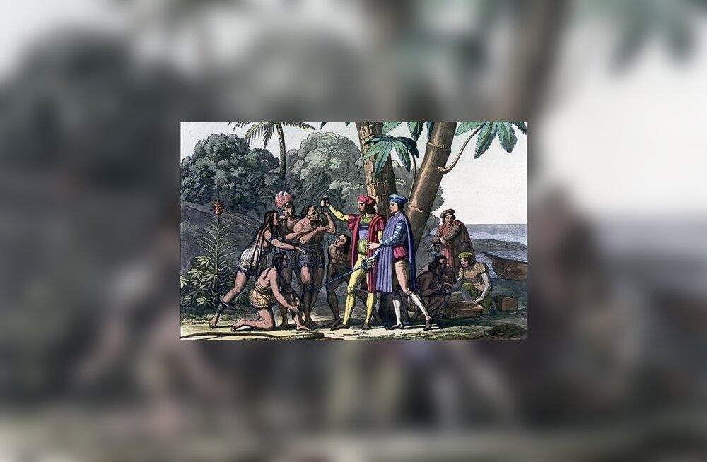 Geokeemik: Ameerika avastamine Kolumbuse poolt põhjustas jääaja