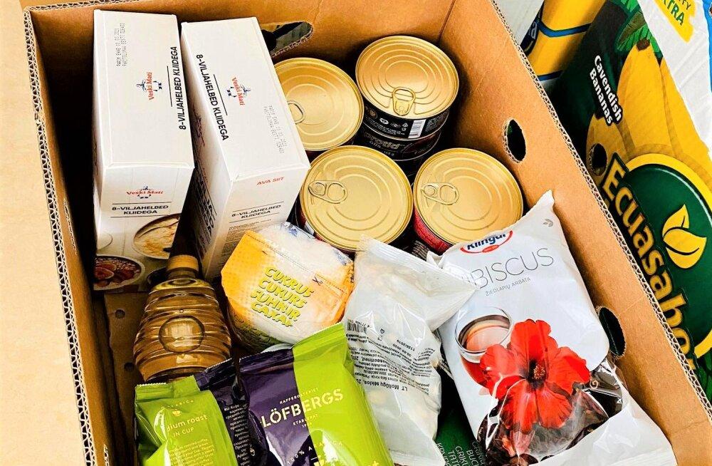 В Таллинне приступили к раздаче продовольственной помощи ЕС