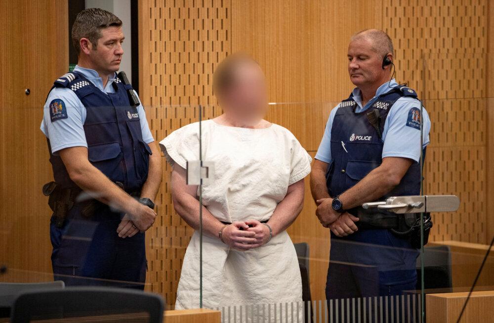 Christchurchi mošeetulistajale esitati süüdistus terrorismis