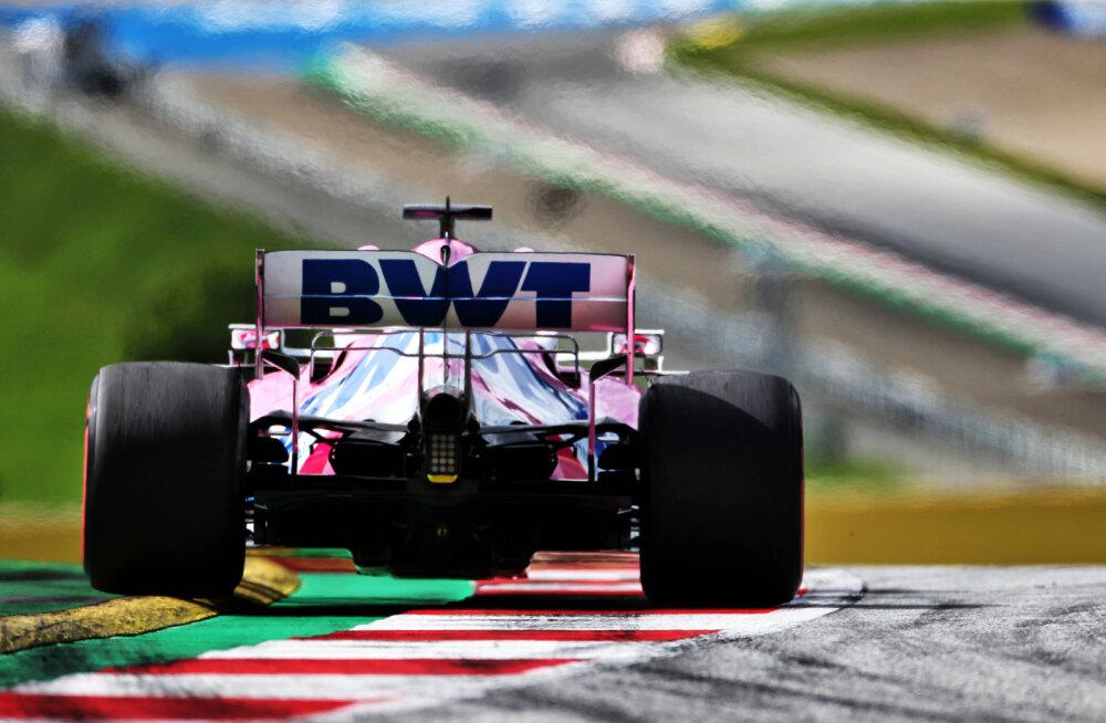 Mercedesed võitsid ka teise vabatreeningu, Perez kolmas