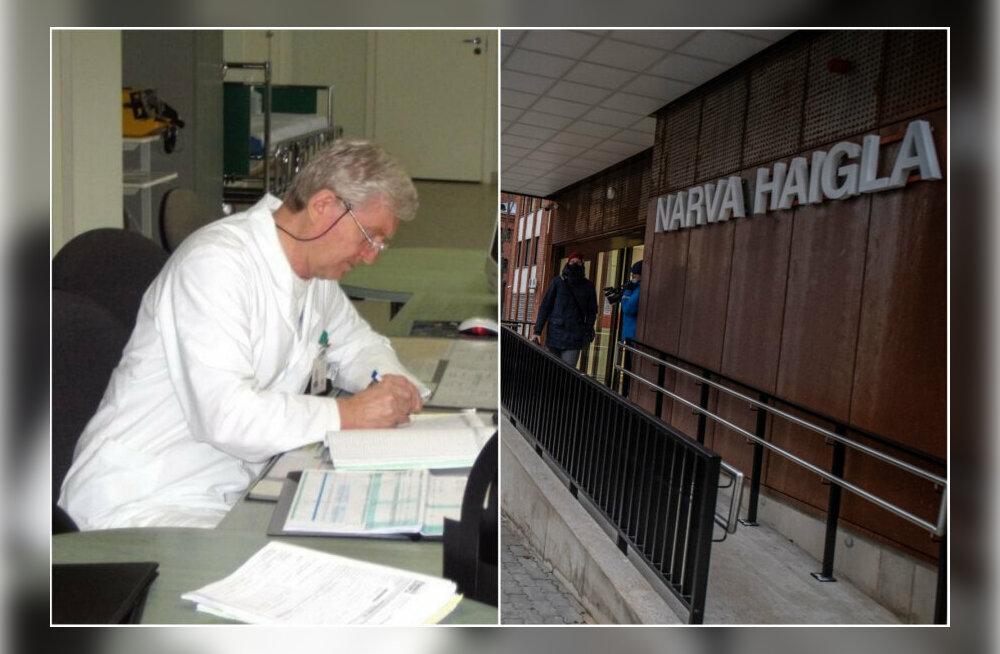Valitsus toetab koroonaviiruse tõttu elu kaotanud Narva arsti perekonda 50 000 euroga