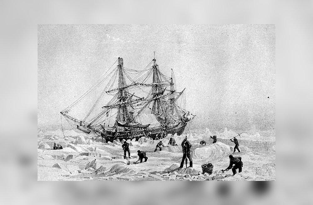 """Знаменитый затонувший корабль """"Террор"""" найден в водах Северного Ледовитого океана"""