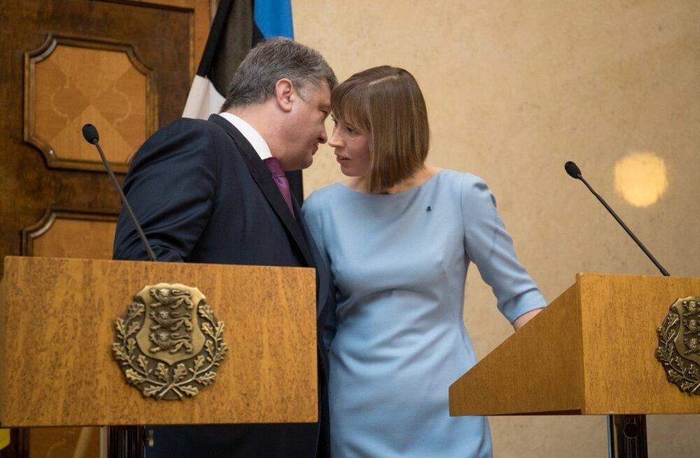 Ukraina president Petro Porošenko Kadriorus
