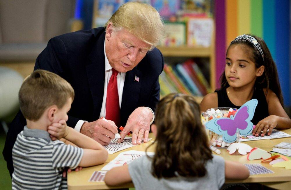 Trump värvis USA lipu ümber