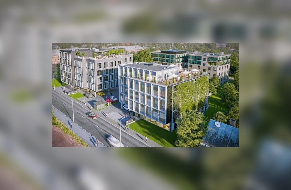 Управа столичного района Кристийне переехала на новое место
