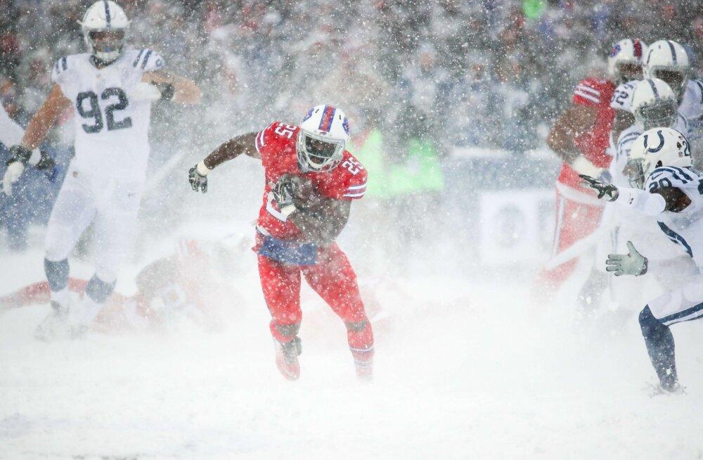 Elu mängu teinud Hunt ja Colts kaotasid lisaajal uskumatu lumelahingu