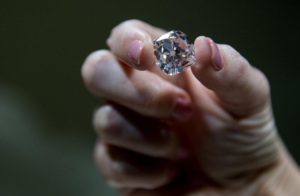 Sügaval Maa pinnas peidab end uskumatu hulk teemante
