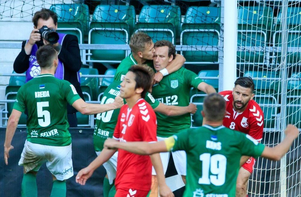 FC Flora võitles avamänguga Niši Radnički vastu välja soliidsed edasipääsuvõimalused.