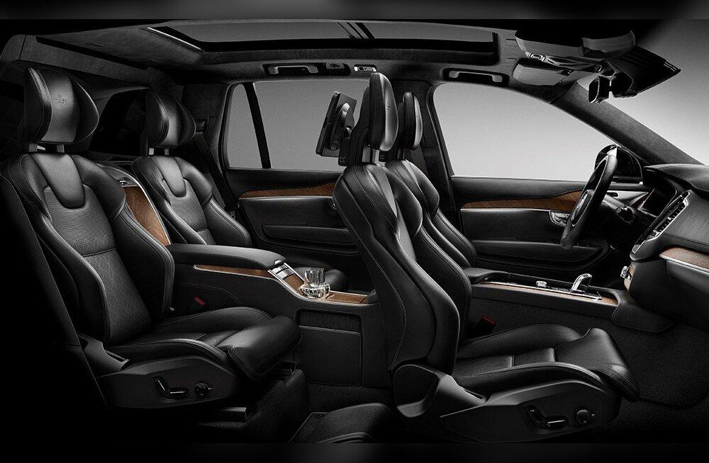 XC90 Excellence – läbi aegade kõige luksuslikum Volvo on sündinud!