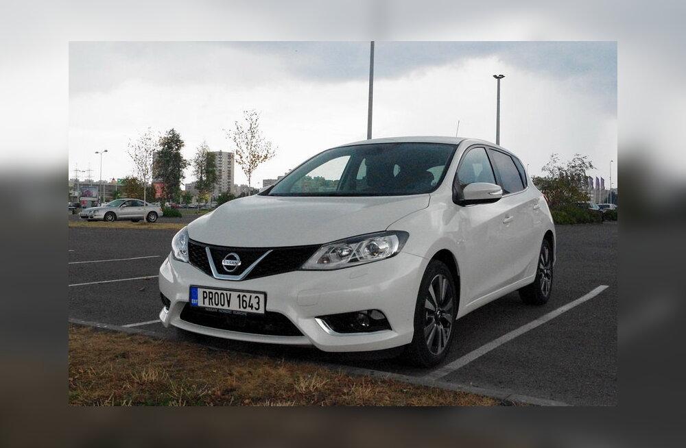 Esmatutvus Nissani uue kompaktautoga Pulsar