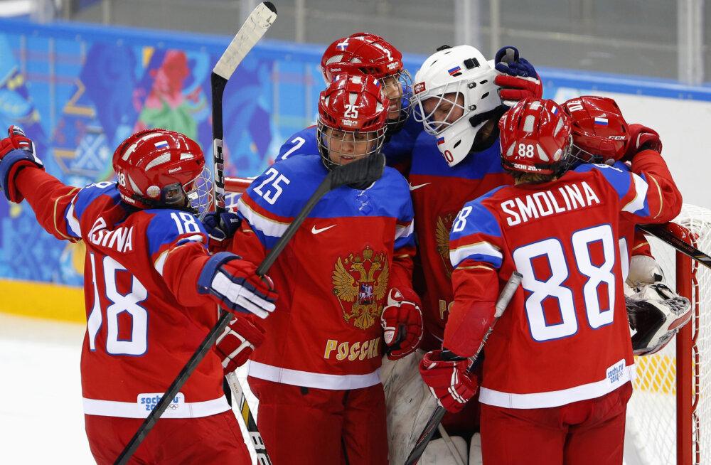 Venemaa jäähokinaiskond Sotši olümpial