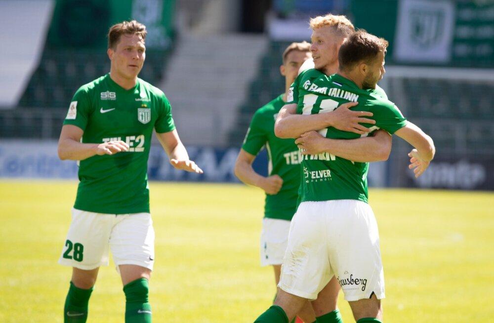 Premium liiga, FC Flora vs Tallinna Kalev