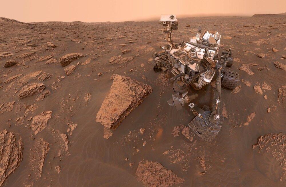 NASA automaatjaam Curiosity.