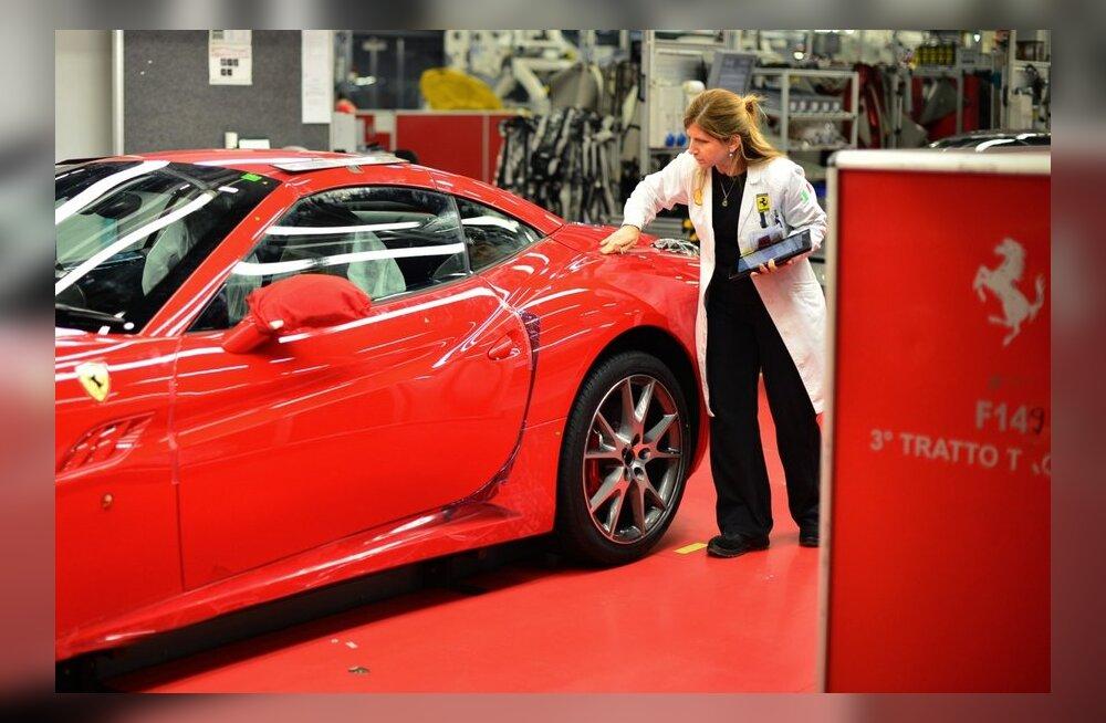 Ferraride ja Maseratide müük Itaalias on järsult kahanenud