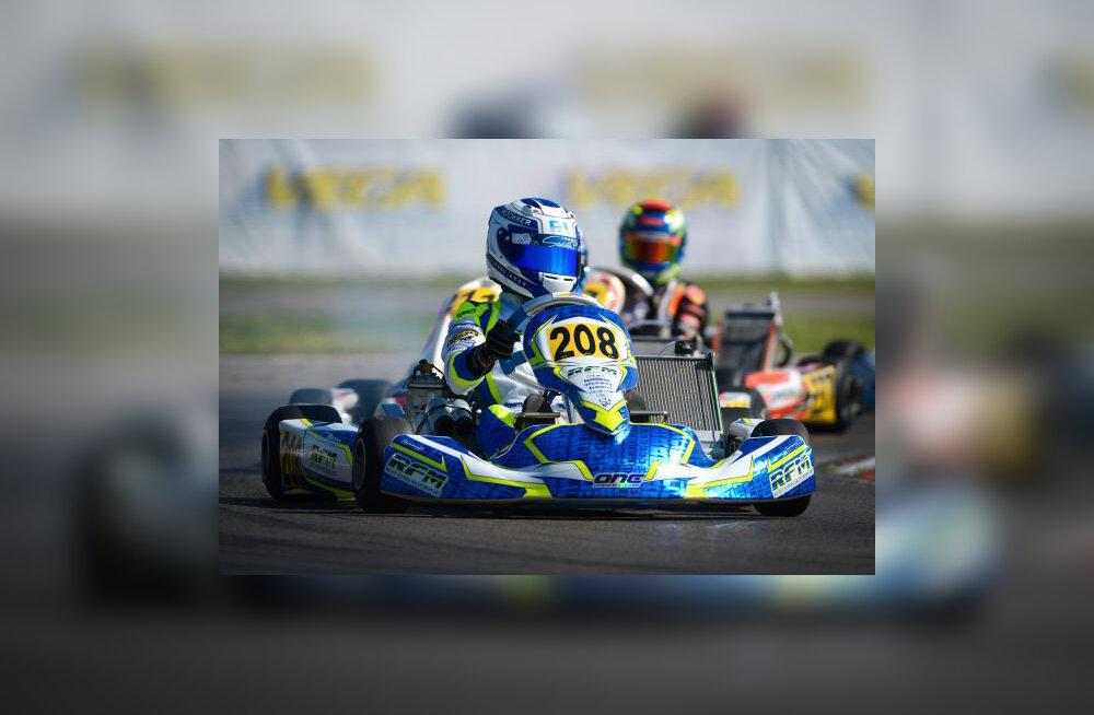 Ralf Aroni noorem vend võitis Rosbergi ja Massa silme all kardisõidu EM-etapi!