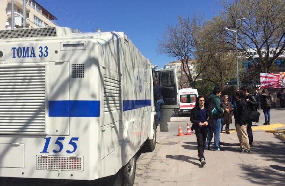 Vahetustudeng Türgis: olen kooli minnes korduvalt pidanud pipragaasi sisse hingama