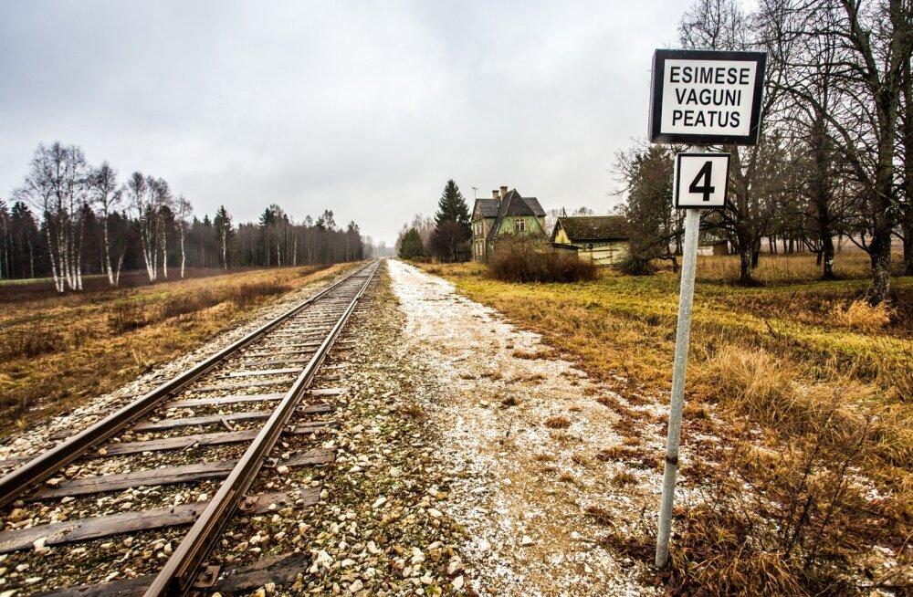 Lelle-Pärnu raudteelõigu seisukord on halb ja remontida tuleks vähemalt nii palju, et see kaubavedudele vastu peaks.