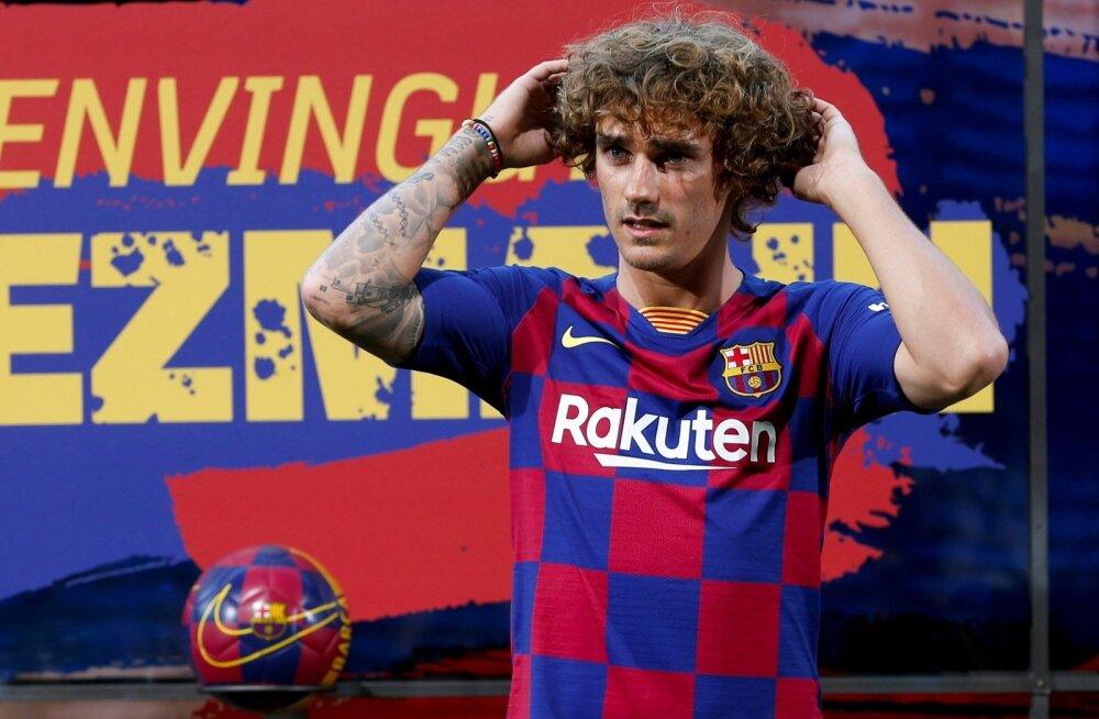 Antoine Griezmann tõmbas selga FC Barcelona särgi.