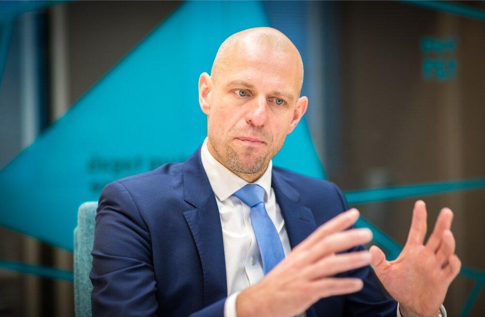 """""""See, et me Eesti Energiaga tülitseme, on väga hea ja positiivne. See näitab, et Elering käsitleb mis tahes kapitalistruktuuriga tootjaid ühtemoodi,"""" ütleb Taavi Veskimägi."""
