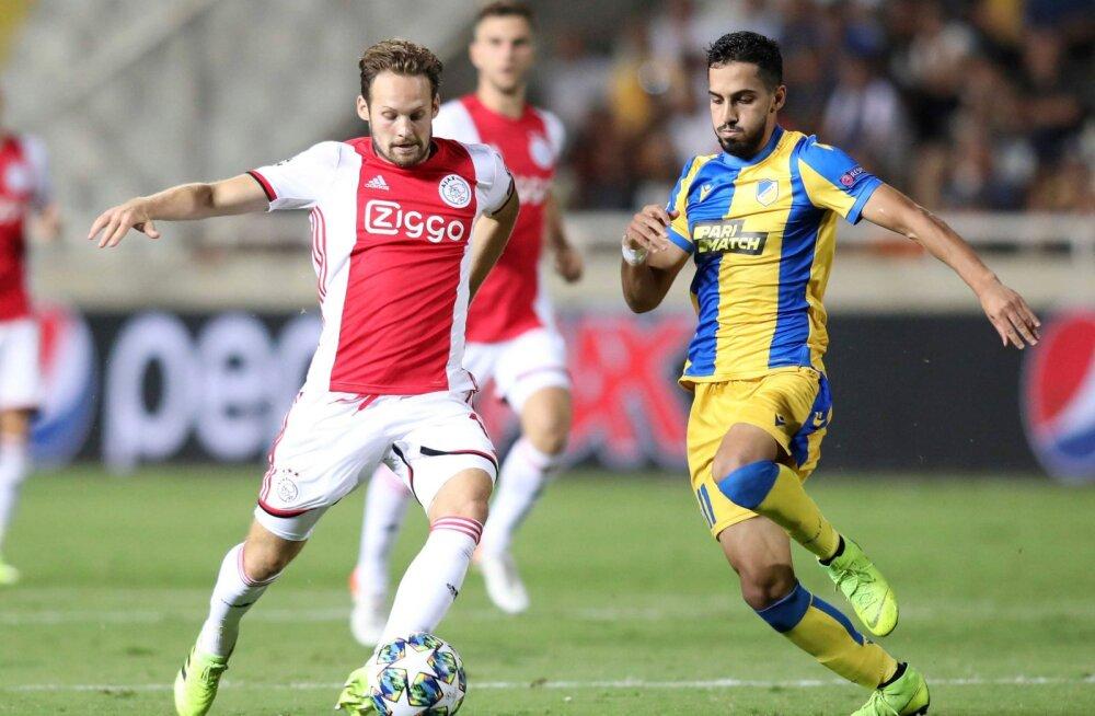 Kevadine Meistrite liiga poolfinalist Ajax ei pruugi tänavu alagrupiturniirilegi jõuda