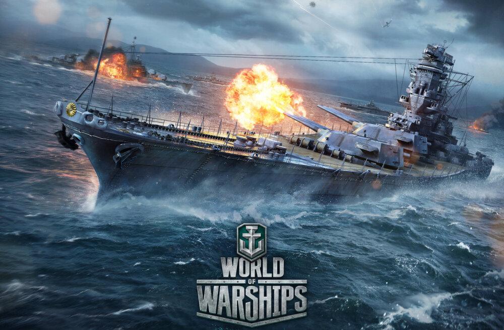 Esimene pilguheit: veebipõhine sõjamäng World of Warships (beeta)