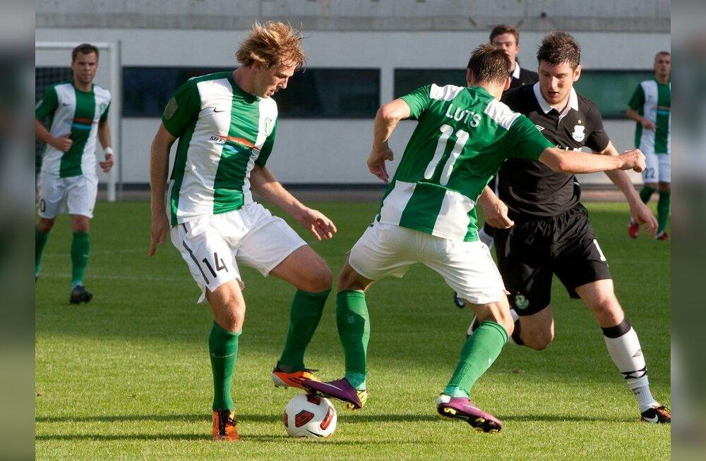 Tallinna Flora kerkis taas jalgpalliliiga liidriks