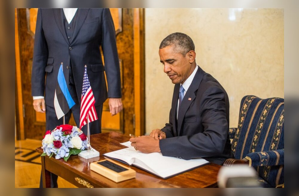 Vasakukäeline Obama.