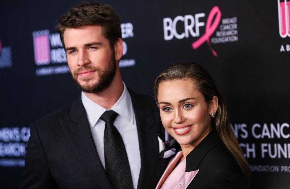 Varjatud iseloom, alkohol ja plahvatuslik käitumine: sõbrad paljastavad, mis viis Liam Hemsworthi ja Miley Cyrusi lahutuseni