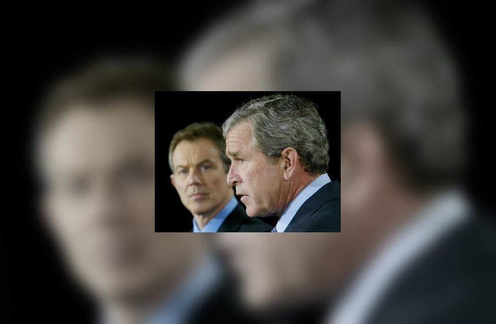 Tony Blair ja George W. Bush