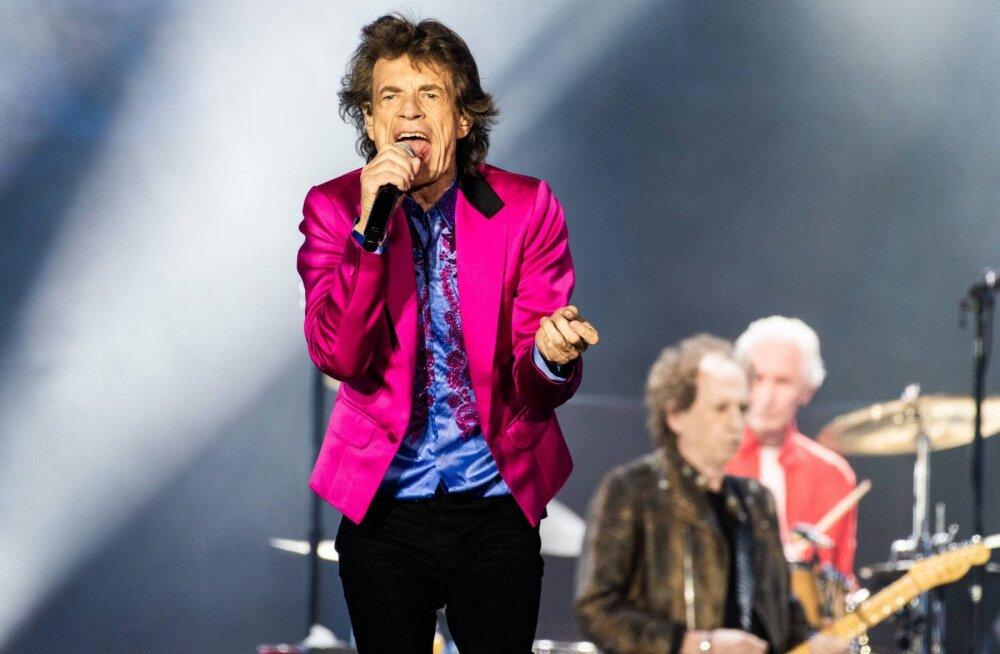 Rolling Stones on tulivihane USA riigipea Donald Trumpi peale