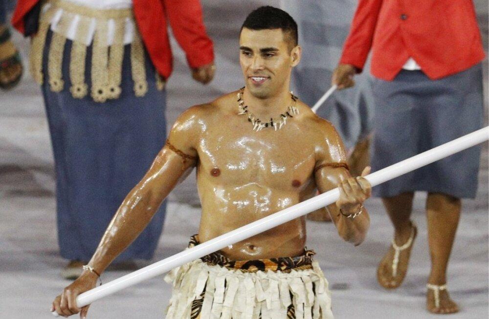 Pita Taufatofua Rio de Janeiro olümpiamängude avamisel