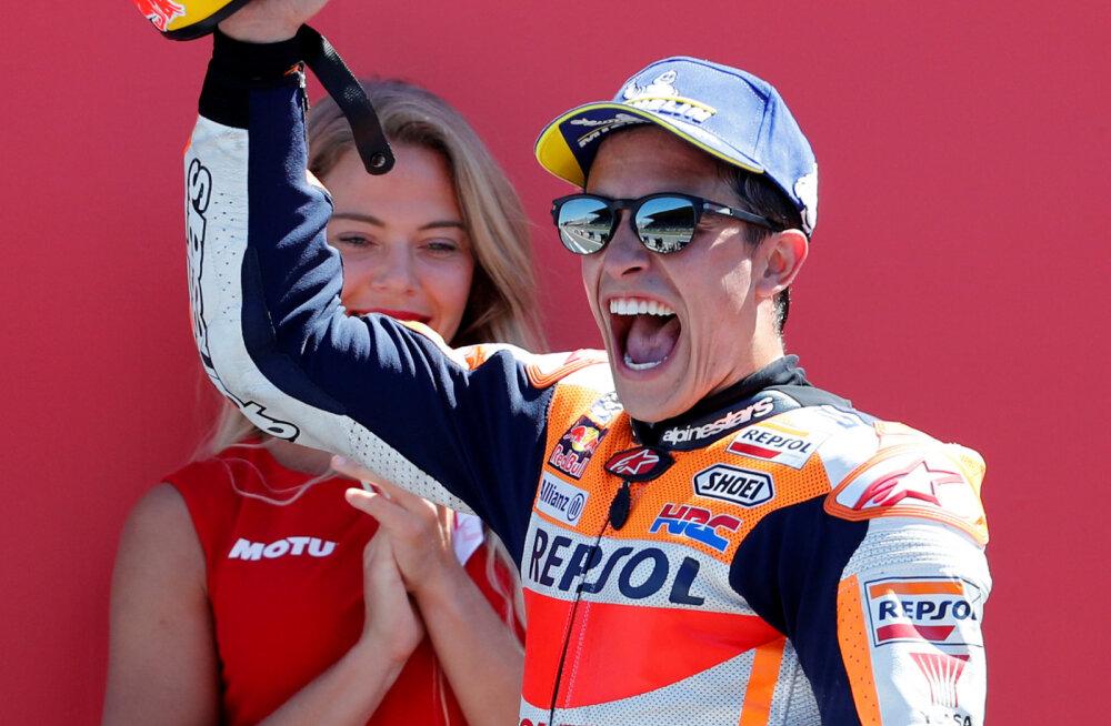 Marc Marquez võitis motoGP MM-etapi
