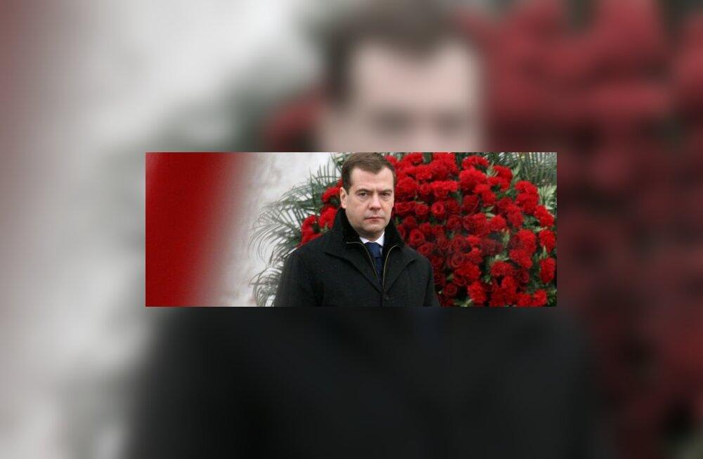 Medvedev saatis Dmitri Ganini emale kirja