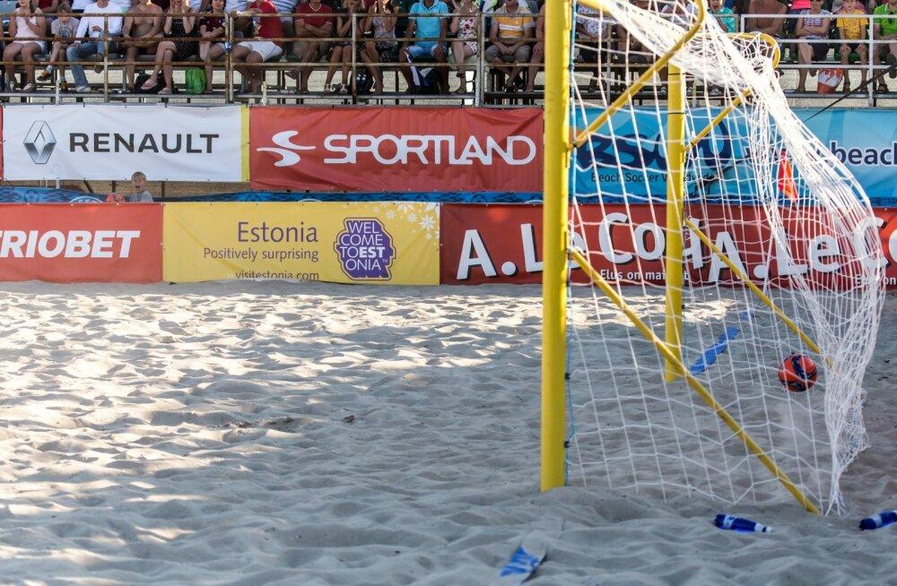 Rannajalgpalli Euroliiga superfinaal Eesti - Rumeenia