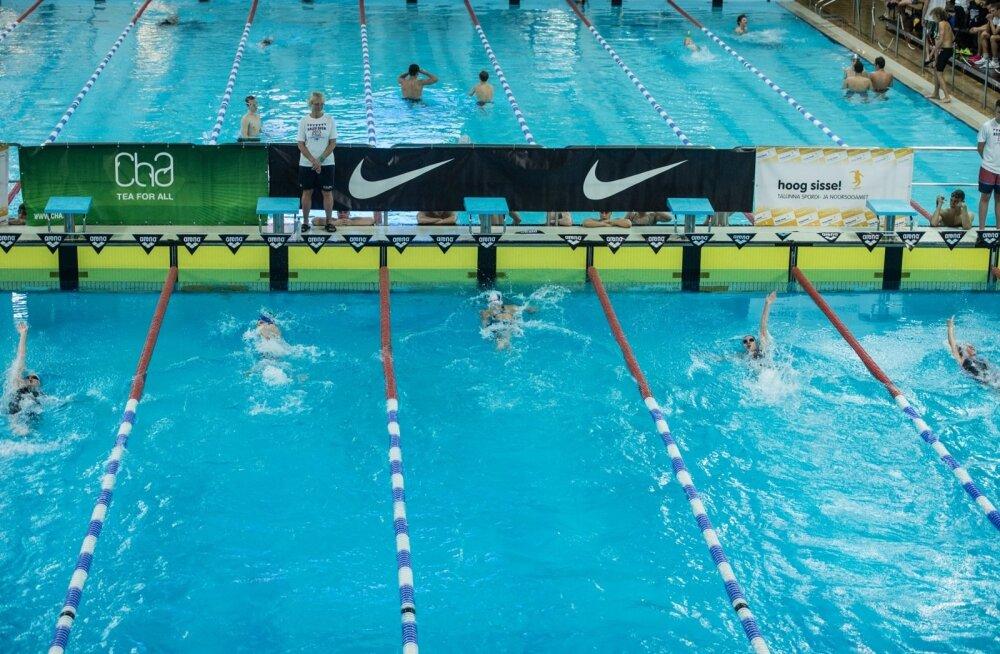 Ujumine. Pilt on illustratiivne