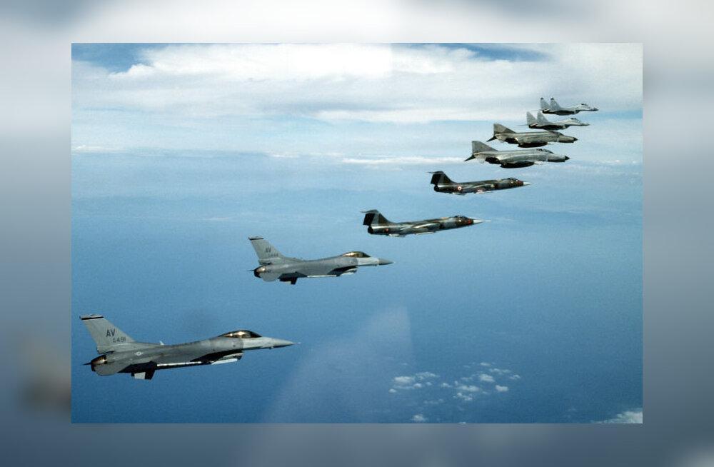 F-täht ei tähista just roppusi: tutvustame USA hävitajaid F-1-st kuni F-35-ni