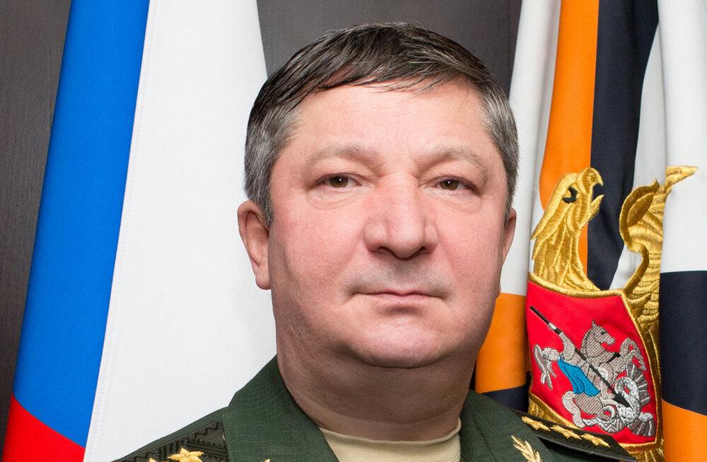Vahistati Venemaa kindralstaabi ülema asetäitja, keda süüdistatakse ligi 100 miljoni euro riisumises