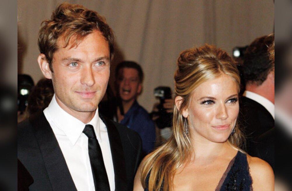 Sienna Miller ja Jude Law plaanivad suvepulmi