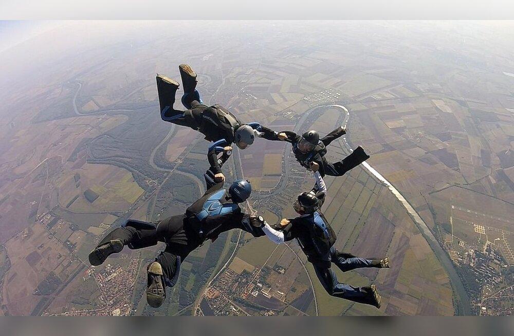 Eesti langevarjurid sõjaväelaste maailmameistrivõistlustel