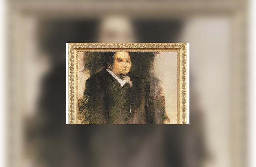 """Tehisintellekti """"joonistatud"""" maal müüdi enampakkumisel ligi 380 000 euro eest"""