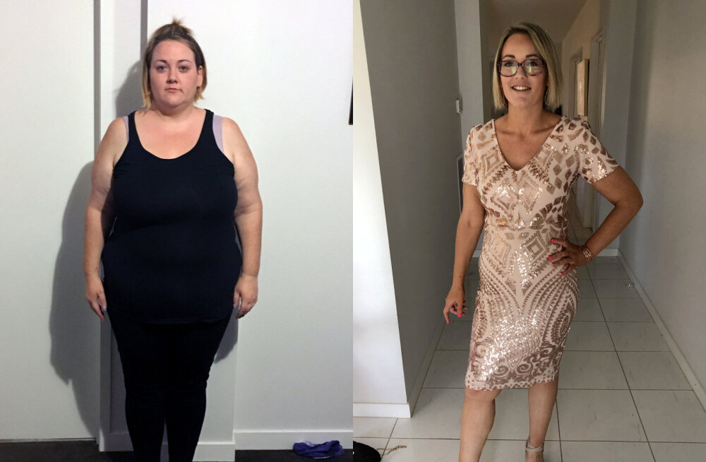 """""""Ma ei julgenud isegi lennukis turvavöö pikendust küsida"""": 127 kg kaalunud naine näitab maailmale oma imekaunist uut figuuri!"""