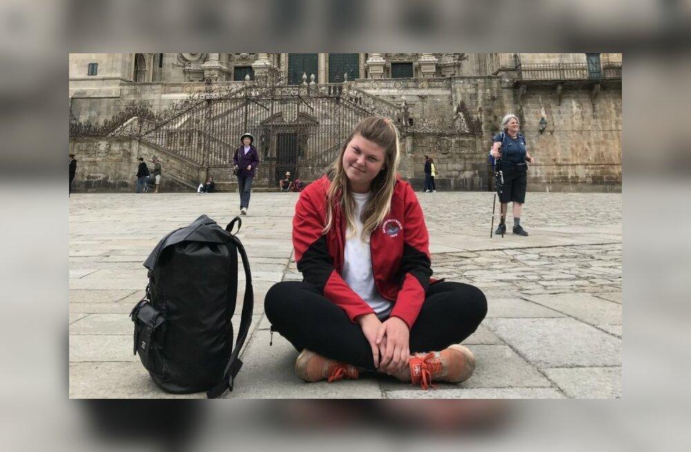 """""""Боль тебя не определяет"""": Как cтудентка из Вильнюса преодолела 270 км пешком по Португалии и Испании"""