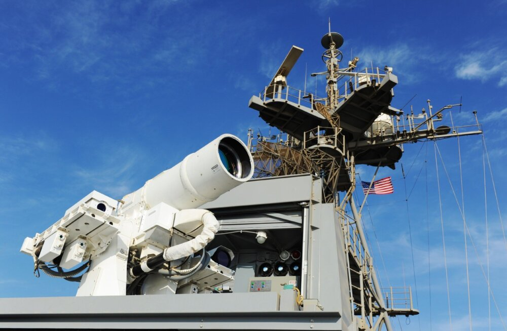 Polegi enam ulme: USA merevägi hakkab testima uskumatult võimast ründelaserit