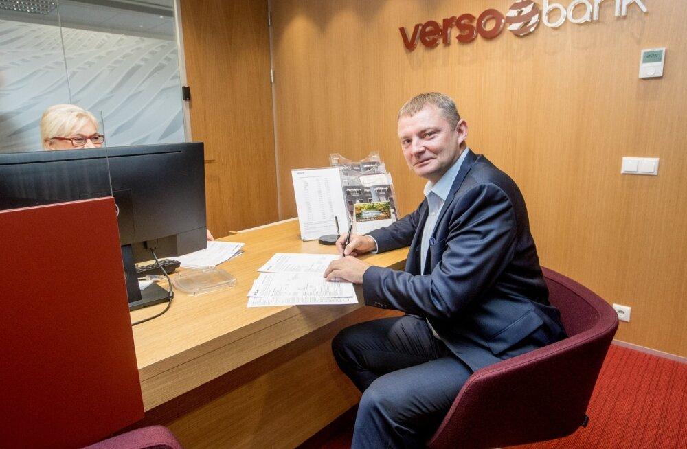 Aivo Adamson, Versobank
