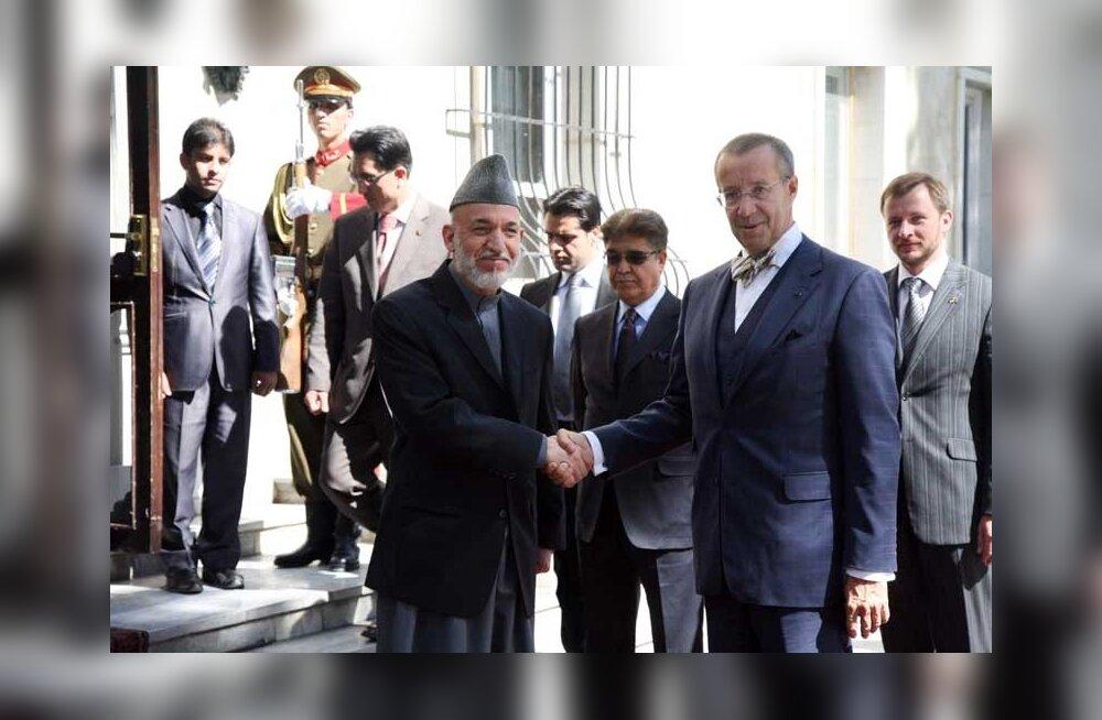 President Ilves: Eesti panustab Afganistani, kuni see on vajalik ja oodatud