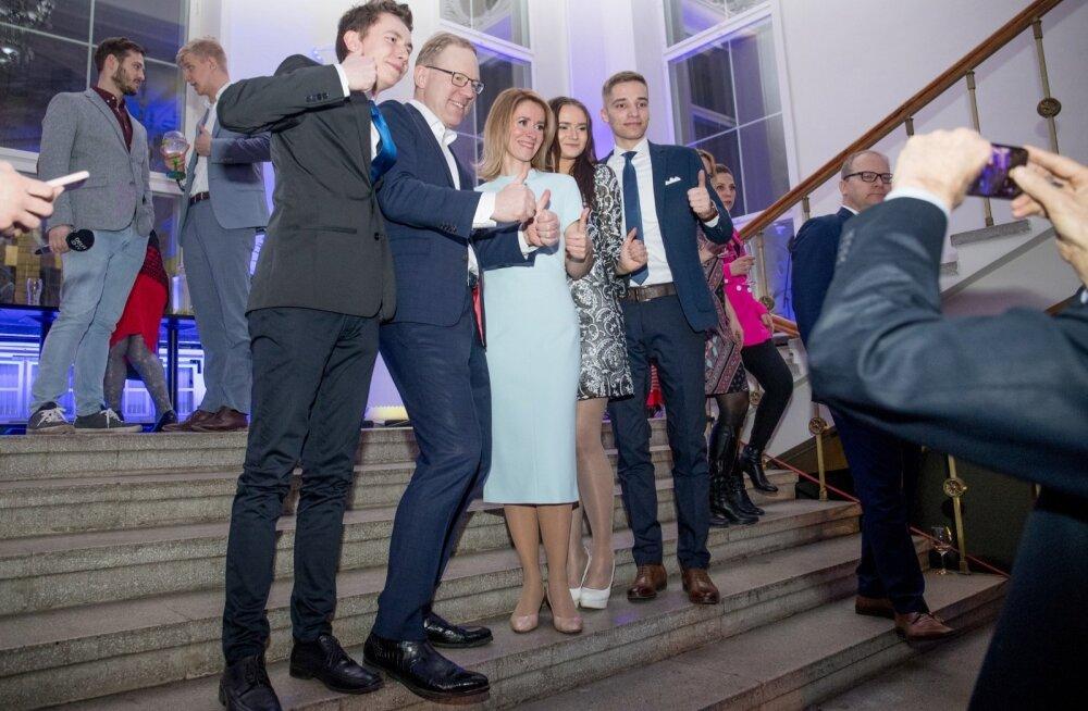 GRAAFIK | Kaja Kallase juhtimisel sai Reformierakond Eesti ajaloo suurima valimisvõidu